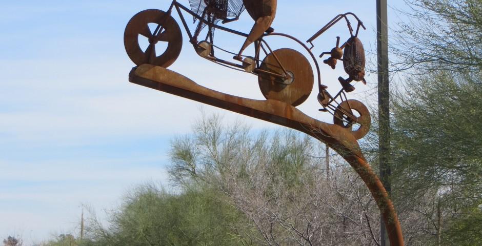 Batty Biker Family, Tucson, AZ