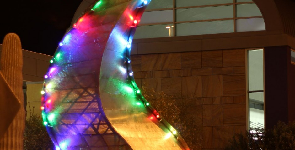 The Spirit of Southern Arizona, Tucson Intl Airport, AZ ^(solar powered)