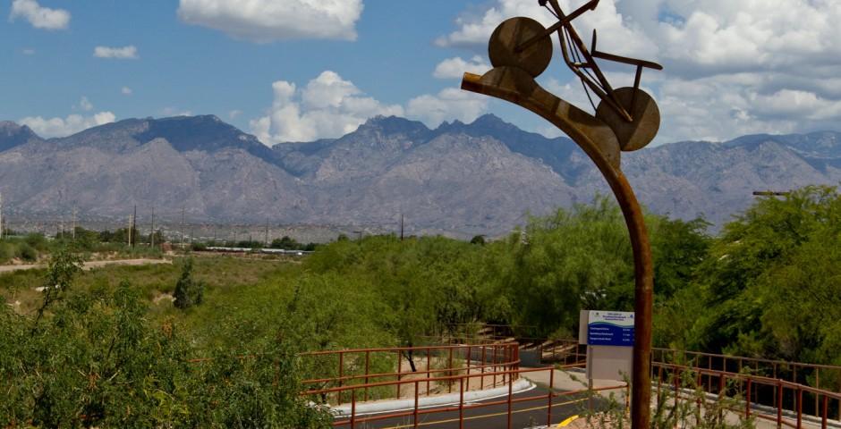 Batty Biker, Tucson, Arizona
