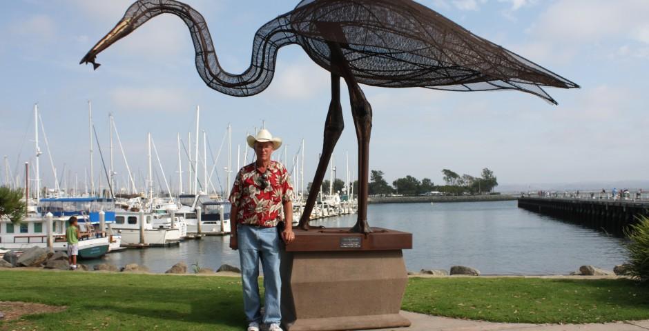 The Fisherman, Chula Vista Bayside Park, Chula Vista, CA