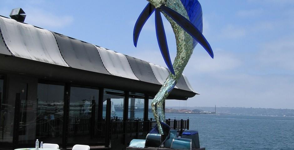 Tailwalking Suncatcher, the Embarcadero, San Diego, CA